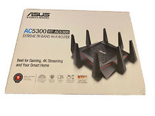 ASUS AC5300 Wi-Fi Tri-band Gigabit Wireless Router with 4x4 MU-MIMO, 4 x LAN Por