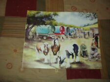 Appleby  Fair Horses Romany Gypsy Pictures Caravan Living wagons Fine Art Prints