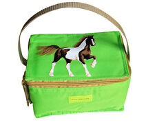 HORSE LUNCHBAG LUNCHBOX GREEN BY PONY MALONEY