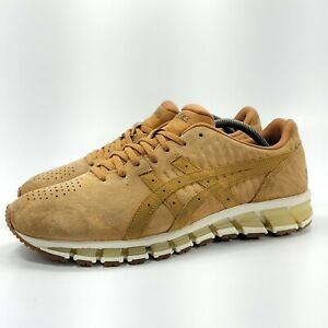 Asics Gel-Quantum 360 Athletic Running Shoe Mens Size 10.5 1021A105 Brown Suede