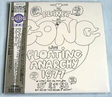 Planet Gong - Live Floating Anarchy 1977 JAPAN Mini LP CD 2000 NEW Daevid Allen