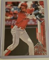2020 Topps UK Edition Shohei Ohtani Red Parallel #88/99 Angels