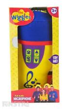 The Wiggles Microphone Plush Toy with Sound | Wiggles Plush | The Wiggles Toys