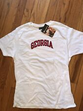 Georgia Champion White Tee NEW with tags Large