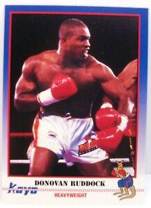 Donovan razor Ruddock 1991 Kayo Boxing card #89
