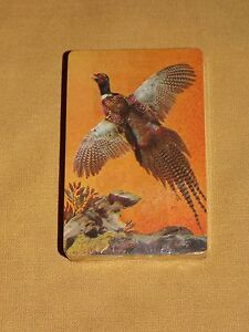 VINTAGE TRUMP BIRD WATER FOWL PLAYING CARDS UNOPENED