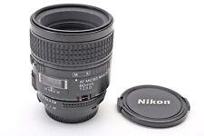 Nikon 60mm f2.8 AF-D Micro Nikkor 60/2.8 AFD FX 1:1 Macro+Prime Lens+BEAUTY