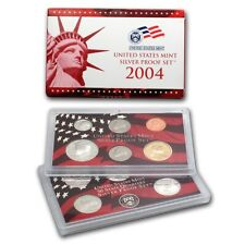 (1) 2004 United States Mint Silver Proof Set in Original Box