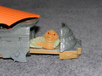Vintage Star Wars Micro Machines Action Fleet Sail Barge w Jabba the Hut Figure