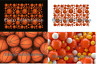 Mat Rug Basketball Baseball Ball Orange Bathroom Toilet 40x60cm Free Shipping