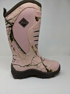 Muck Boot Womens Pursuit Stealth Size 6 Pink Camo Insulated