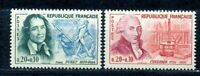 TIMBRES DE FRANCE  1961 CELEBRITES  Y.V. N° 1296 / 1297  NEUFS  SANS CHARNIERE