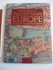 The City Maps of Europe 16th Century Town Plans from Braun & Hogenberg,Rand McNa