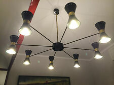 chandelier LUCI design 50 60 Stilnovo arredoluce arteluce gauriche stile