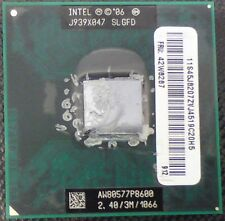Dell Alienware Corp M17 R1 AW80577P8600 Intel Core2 Duo Procesador P8600 CPU 2.4