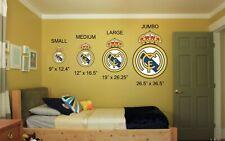 Real Madrid FC Logo Crest Football Soccer Vinyl Wall Decal Car Window Sticker