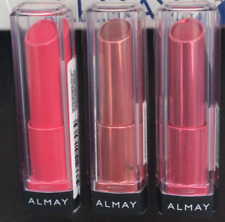 Almay Lipstick Butter Kiss Trio Pink, Nude, Berry Hypoallergenic Ultra Hydrating