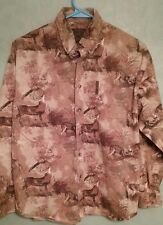 North Rivers Outfitters Deer Hunting Button Front  youth L 14/16 Soft Material