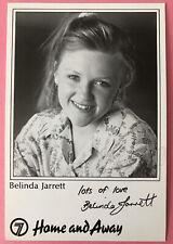 More details for belinda jarrett *karen dean* home and away pre-signed vintage 90s cast fan card