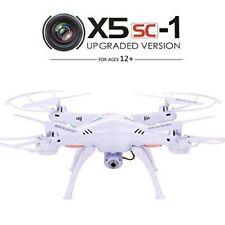 Original SYMA X5SC 2.4G 4CH 6-Axis Gyro RC Quadcopter With 2.0MP Camera White