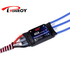 DYS RC Aircraft BEC Brushless Motor Electric Speed Controller ESC 40 Amp