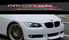 Spoilerlippe für BMW 3er e92 e93 Lippe Spoiler M Paket Performance Frontansatz 3