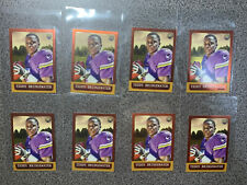 2014 Topps Chrome 1963 Mini ROOKIE #50 Teddy Bridgewater 8 Card RC Lot Panthers