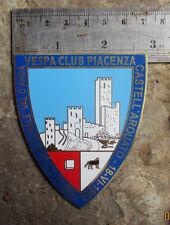 VINTAGE VESPA CLUB PIACENZA 1960 PLACCA PLACCA BADGE GS 150 160 part sale
