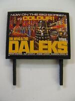 Dr Who & The Daleks Model Railway Billboard - N Gauge, OO Gauge & O Gauge