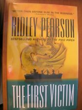 Ridley Pearson The First Victim 1st ed HC SIGNED
