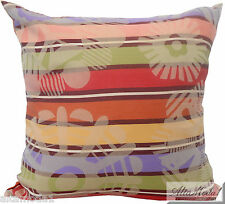 MISSONI HOME NATALIE 156 CUSHION COVER 100% JACQUARD COTTON DYED ON YARN 16x16in