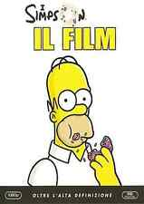 DVD - I SIMPSON IL FILM IN BLU RAY  - NUOVO ITALIANO
