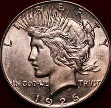 Uncirculated 1926-S San Francisco Mint Silver Peace Dollar