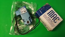 NEW IN BOX MAC SOLENOID VALVE 24Vdc 12.0/14.0W 150psi   225B-221CAAA