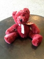 Russ Bears from the Past Rhapsody Red Teddy Bear