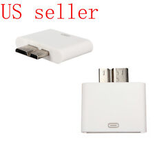 Dock 30pin Female to Micro USB 3.0 male adapter for Samsung Galaxy S5 Note 3