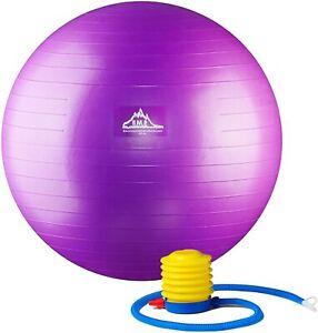 Black Mountain Professional Grade Stability Ball Anti-Burst 55/65/75/85 cm