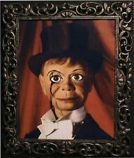 """Haunted Spooky Ventriloquist dummy Photo """"Eyes Follow You"""" doll puppet"""