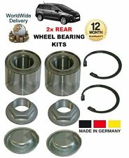 FOR PEUGEOT 5008 MPV 1.6 2.0 HDi 2009-->ON NEW 2x REAR WHEEL BEARING KITS