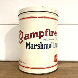 Vintage Campfire Marshmallows 1920 Replica Borden Tin