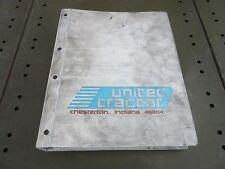 United Towing Tractor Service Manual & Perkins 4.236 Engine Rebuild Manual