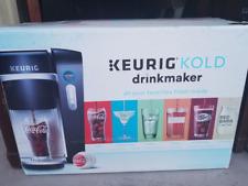 New!  Keurig - Kold Drinkmaker - Black with Two Bonus Glasses