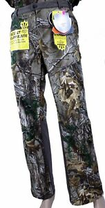 Savannah Womens Cold Weather Camo Softshell Pants Scent Control RT Xtra Camo NWT