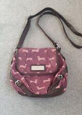 Next, Sausage Dog Dachshund Dark Pink Handbag