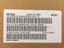 50 Piece Lot B39182 B7821 C710 Sawtek Filter Saw 196ghz Lowloss Smd Rohs