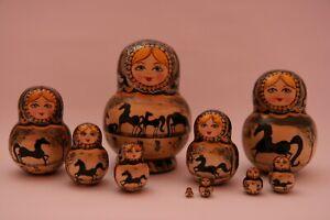 Matroschka,Babuschka,russische Puppe,Steckfiguren