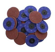"ABN 3"" Inch 24 Grit Aluminum Oxide Sanding Discs 25-Pack"