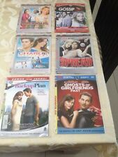 6 x dvd's - GOSSIP GIRL, PRECIOUS, SPREAD, CHARLIE ST.CLOUD, BACK UP PLAN