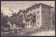 TORINO CERESOLE REALE 31 GRAND HOTEL ALBERGO - POESIA di A. ORVIETO Cartolina