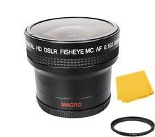 Bower 0.16x AF Fisheye Lens for Nikon Coolpix P950 P900 Digital Camera